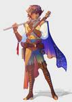 Commission Eladrin elf