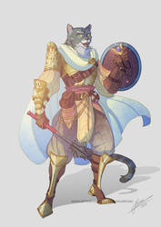 Commission Tabaxi Cleric
