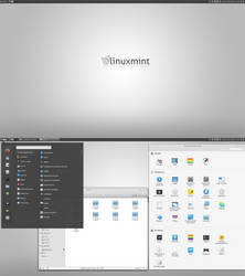 Linux Mint 17.1 Rebecca Elementary Style