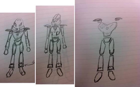 Toa OC Concept Sketches 20121120