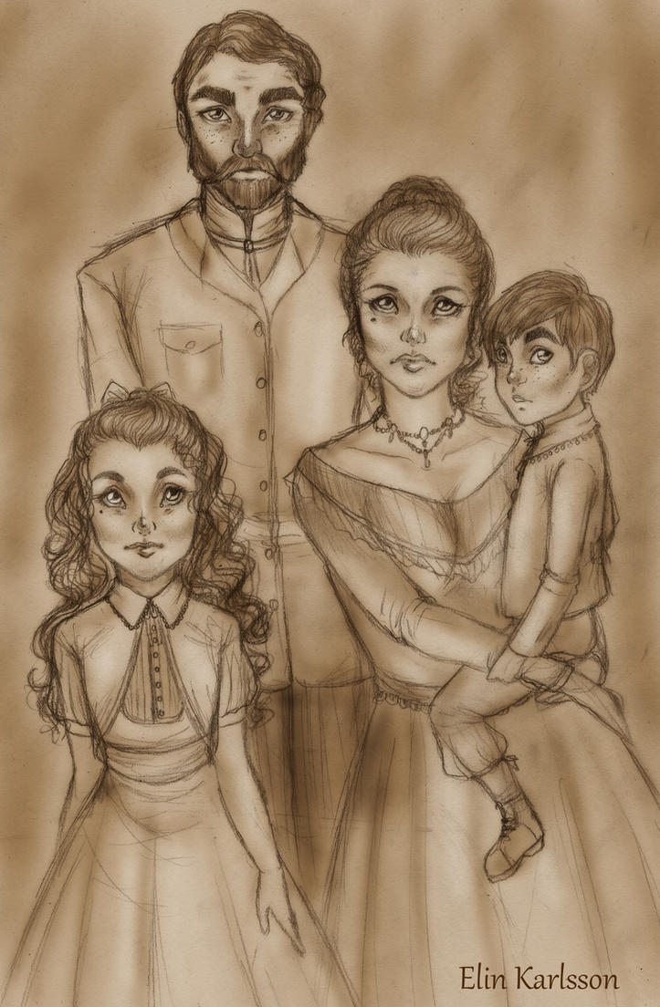 The Castor family by ElinKarlsson