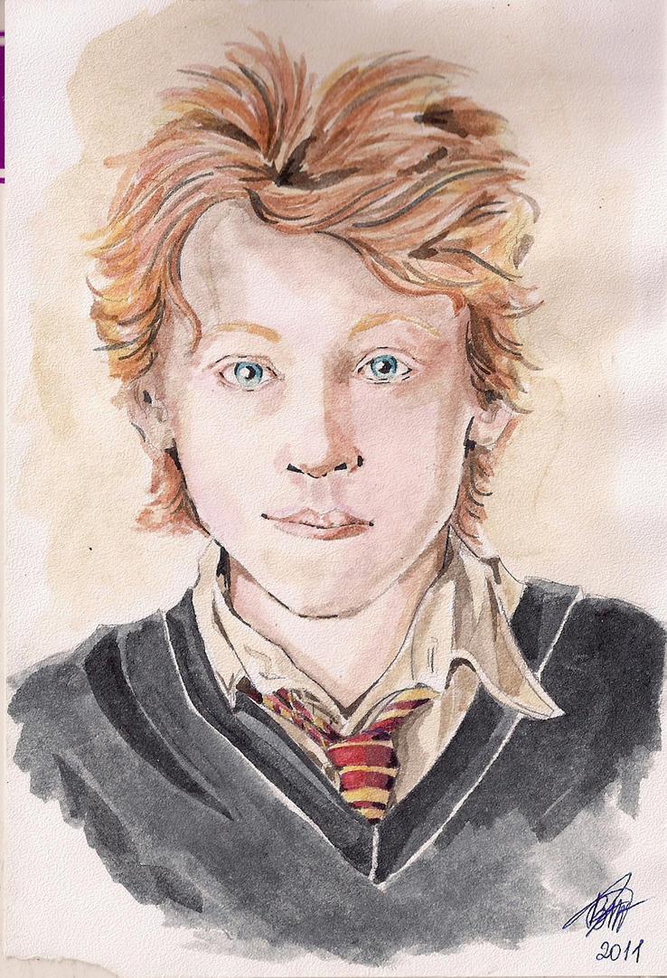Ron Weasley HP3 by Kar... Rupert Grint Today