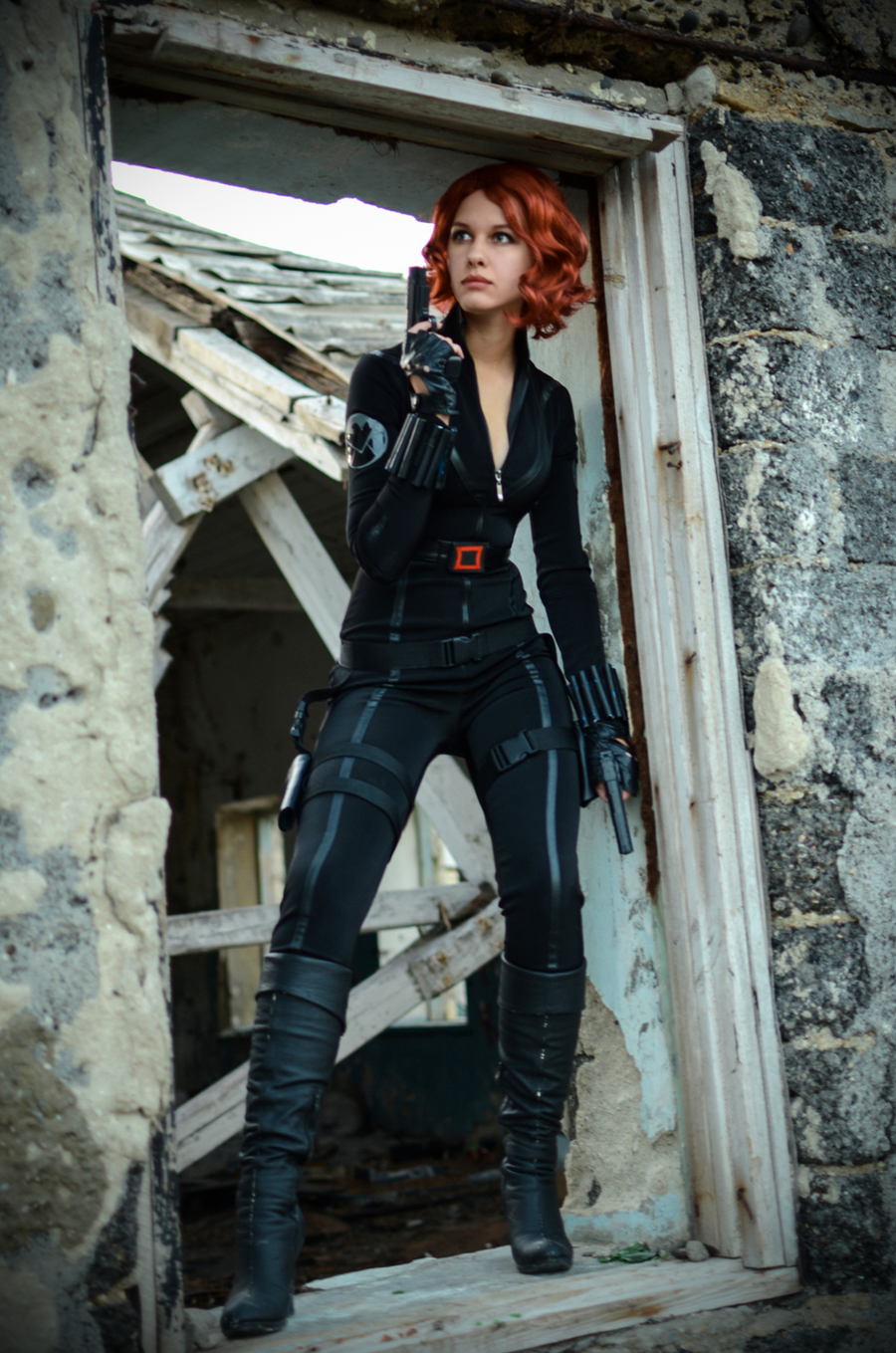 Natasha Romanov photoshoot test by Karenscarlet