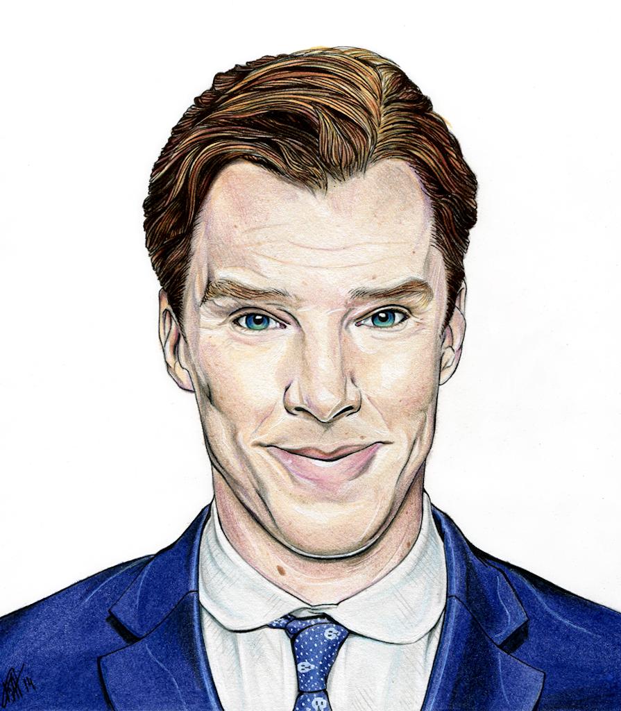 Benedict Cumberbatch by Karenscarlet