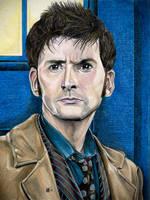 10th Doctor by Karenscarlet