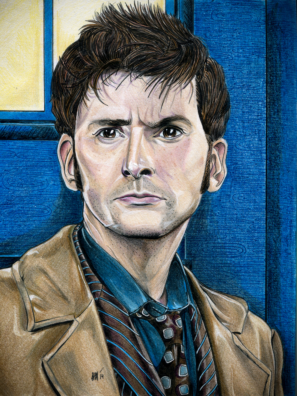 10th Doctor by Karenscarlet