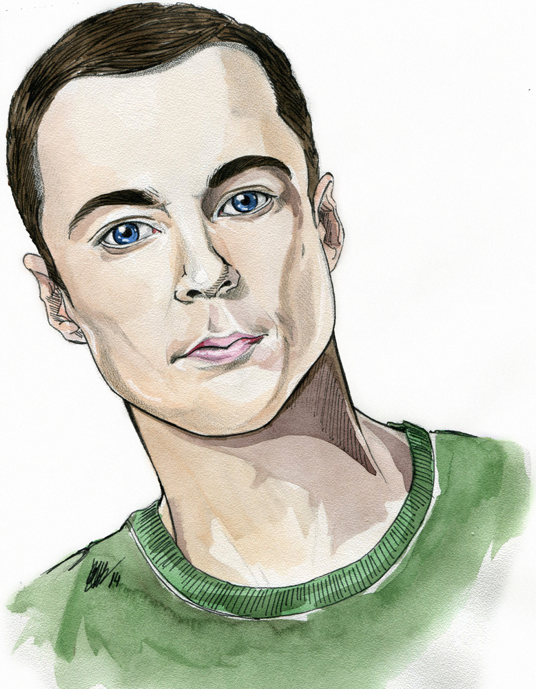 Sheldon Cooper by Karenscarlet