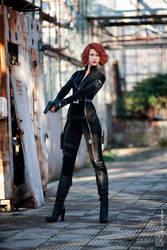 I am Black Widow by Karenscarlet