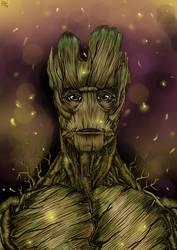 I am Groot by Karenscarlet