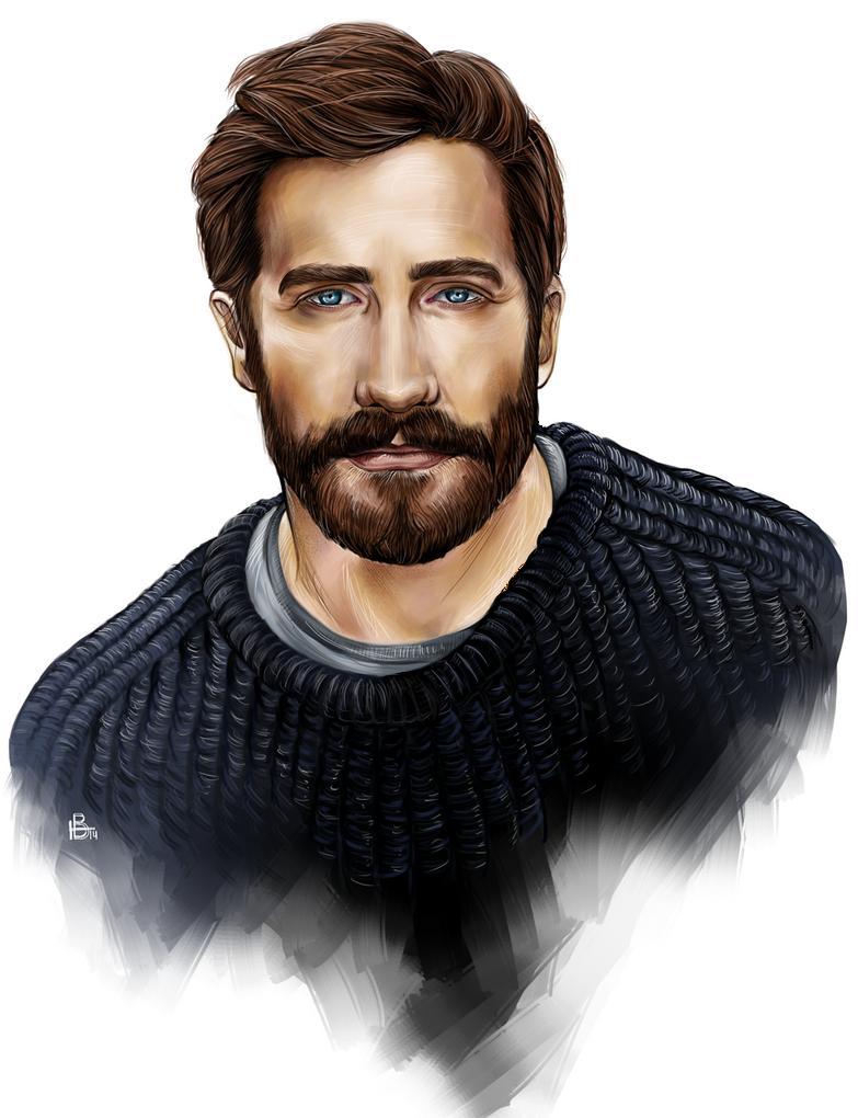 Jake Gyllenhaal by Karenscarlet