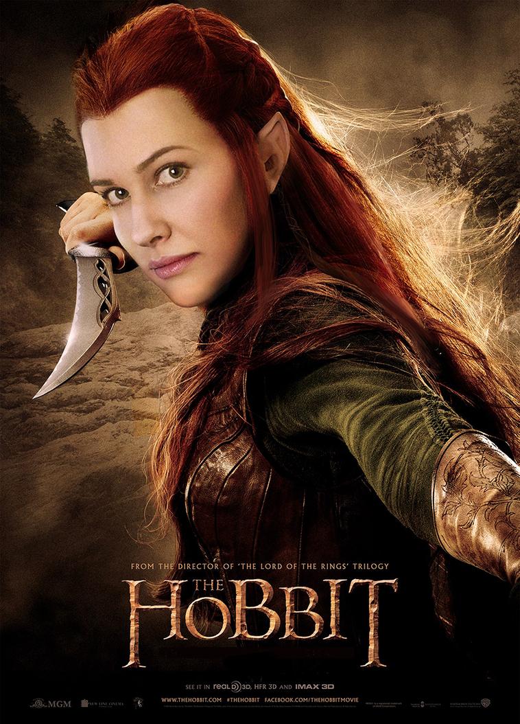 Tauriel poster by Karenscarlet