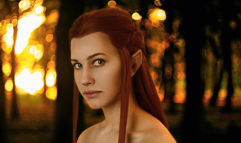 Mirkwood elf by Karenscarlet