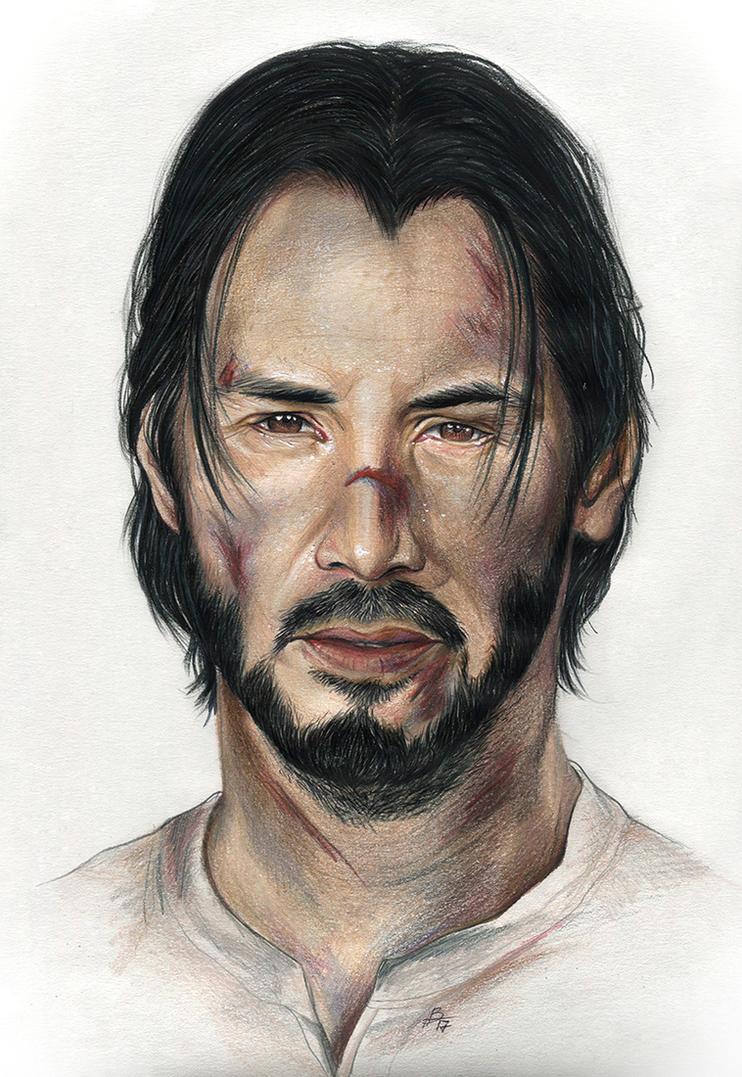 John Wick by Karenscarlet