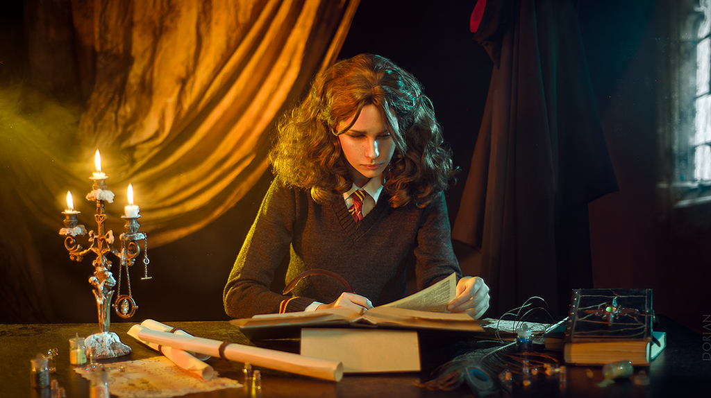Study Hermione by Karenscarlet