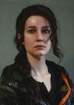 Katniss makeup test
