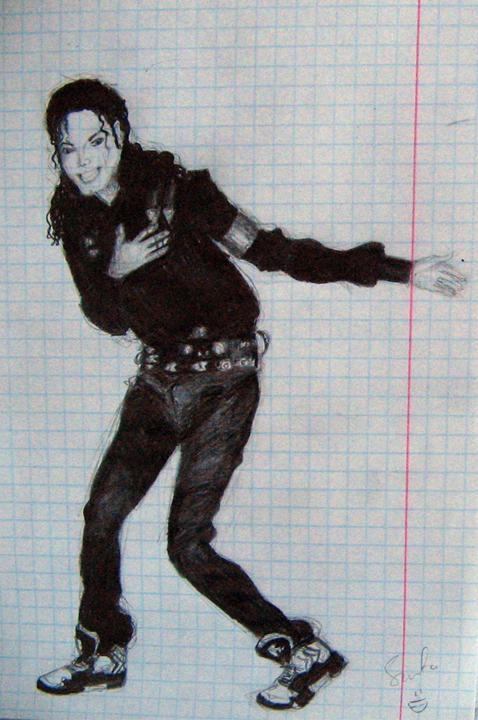 Michael Jackson Sketch 1