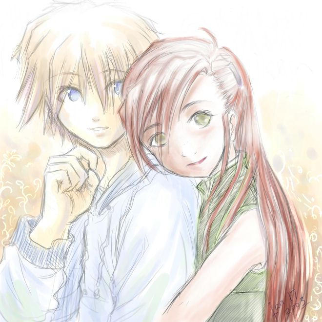 boy meets girl by kaori on DeviantArt