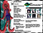 Archie Siletz Bio Monster High OC