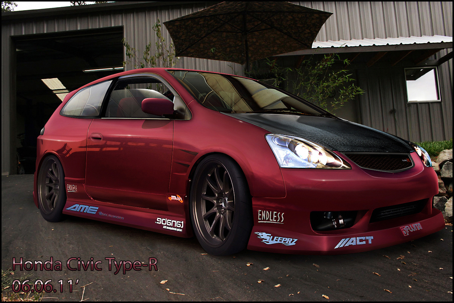 <b>Honda Civic Type R EP3</b> by o0MattE0o on DeviantArt