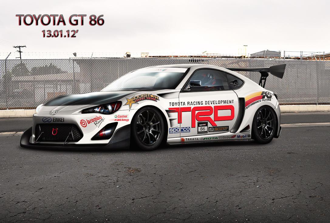 Toyota GT 86 - Toyota Racing Development by apple-yigit-jack
