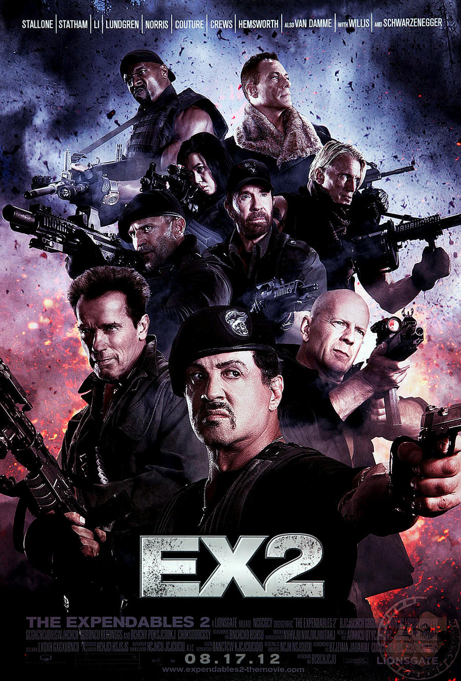 The Expendables 2 by D3516N3R