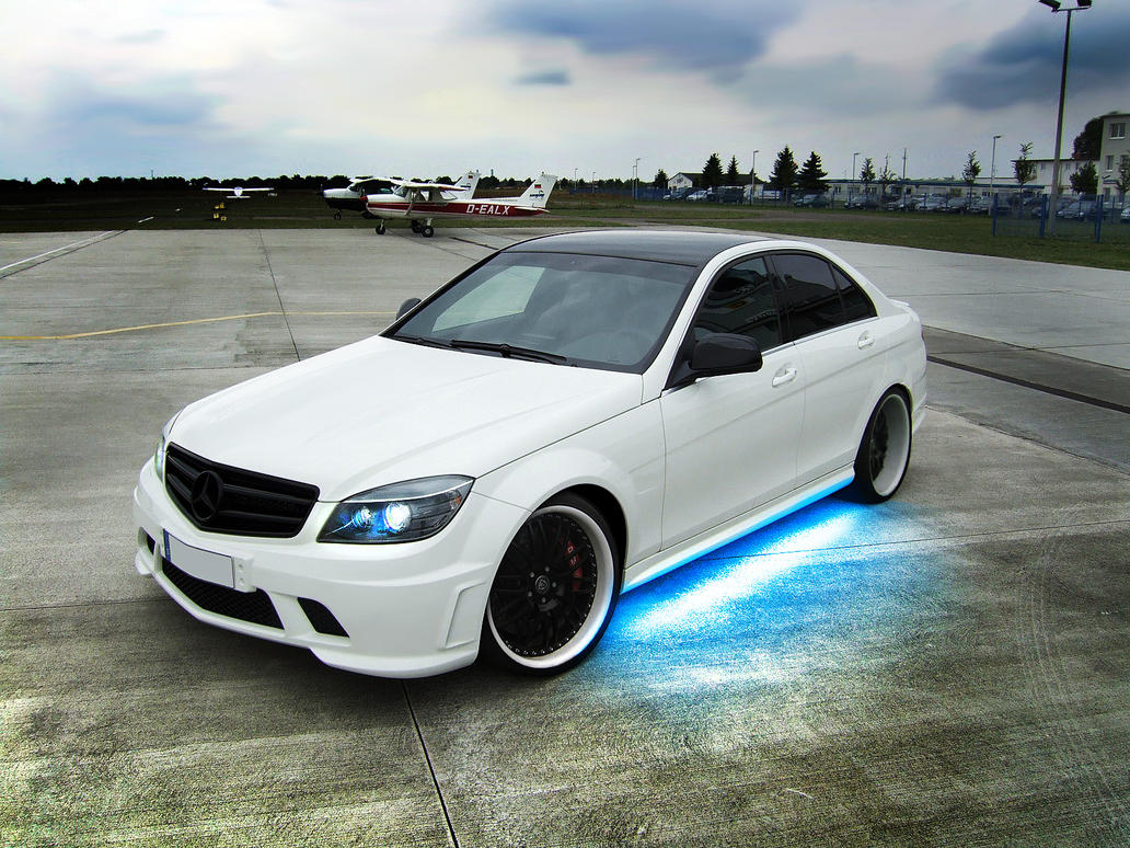 Mercedes benz c63 amg by apple yigit jack on deviantart for Mercedes benz jack