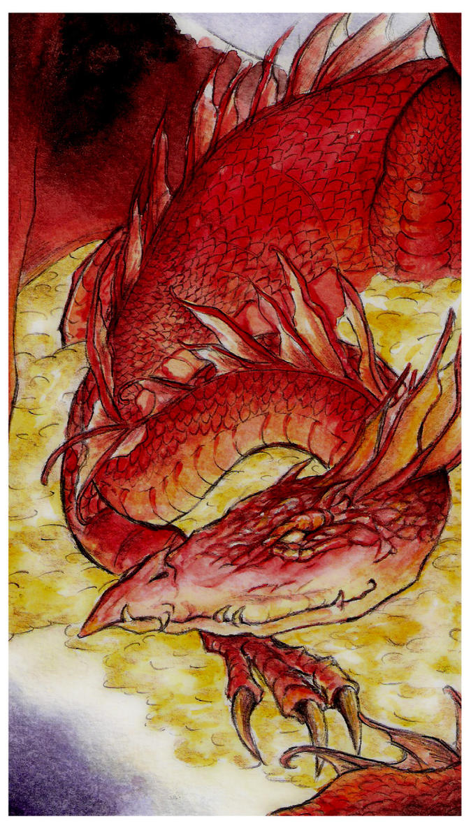 The Hobbit - Smaug by Naivara