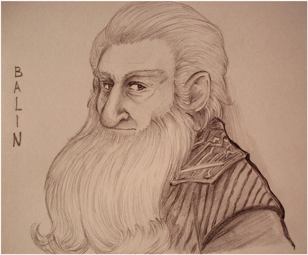 The Hobbit - Balin by Naivara