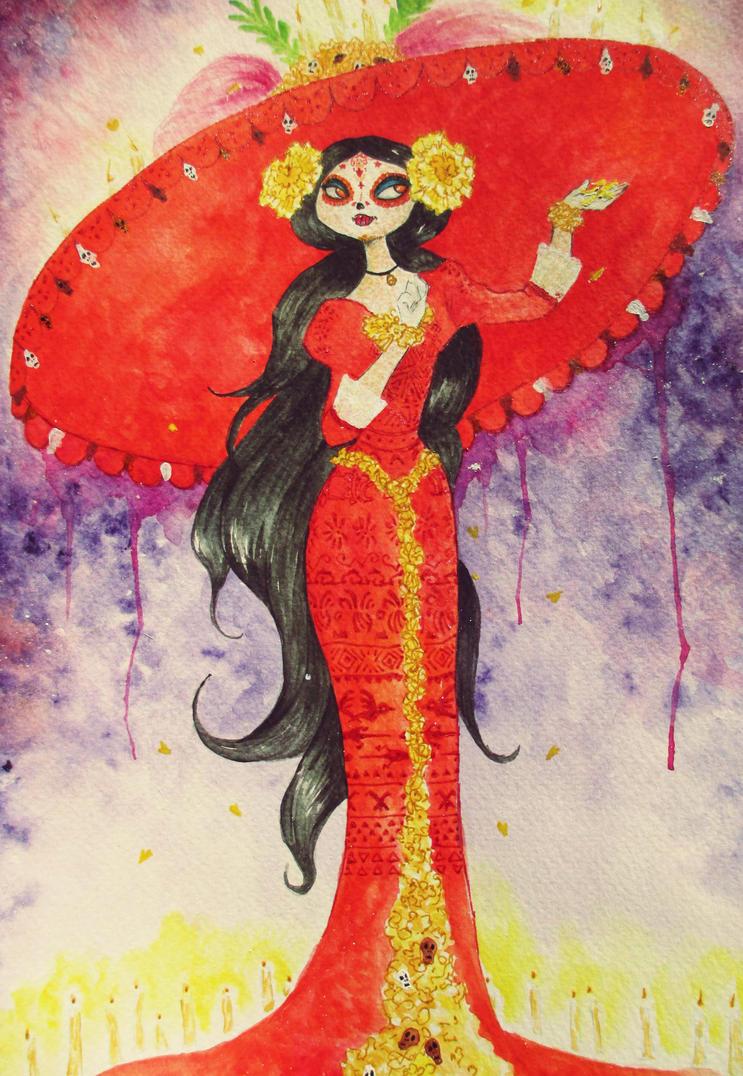 El Libro de la Vida - La Catrina by Naivara on DeviantArt