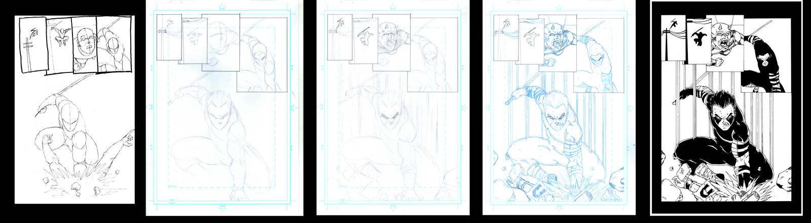 Creating A Comic Page v2.0 by Vegeta1978