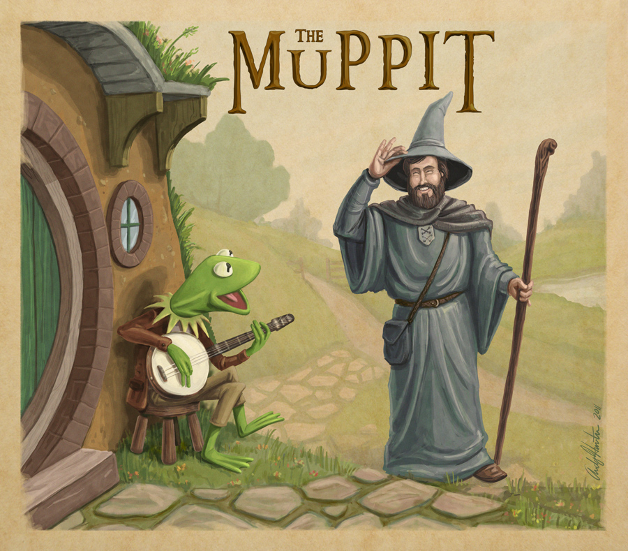 Muppets Tolkien Mashup by andyjhunter