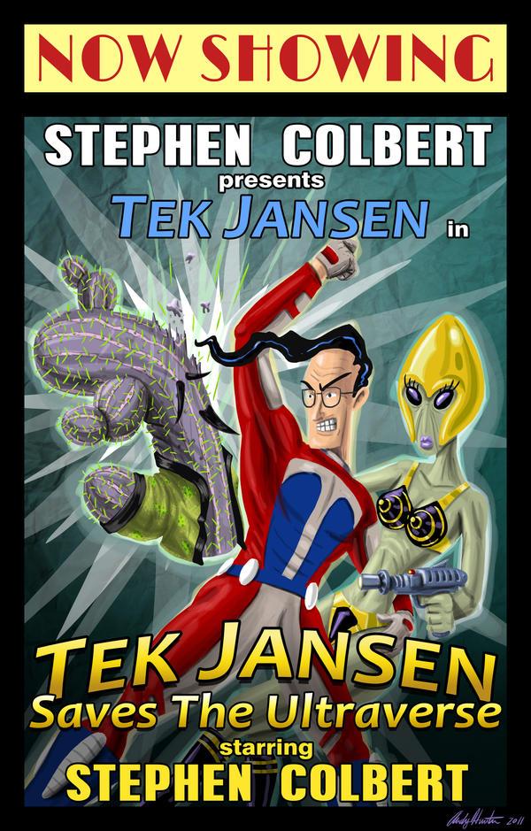 Tek Jansen Poster by andyjhunter