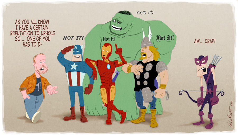 Joss Whedon's Avengers by andyjhunter