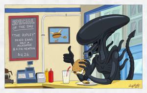 Bob's Burgers Alien Special