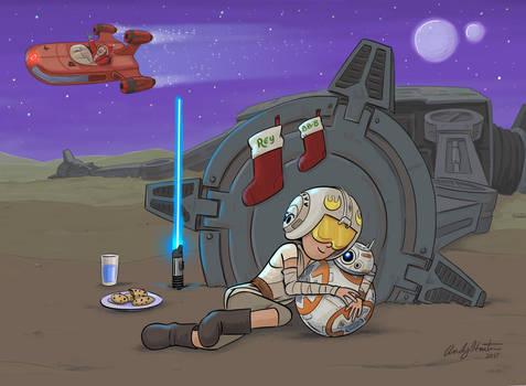 A Star Wars Christmas on Jaaku