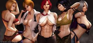 KOF - Elite Female Fighters by YuPaChu
