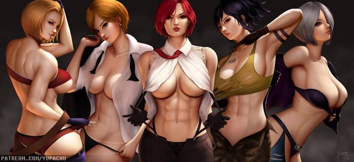 KOF - Elite Female Fighters