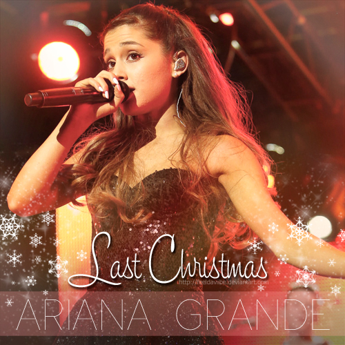Ariana Grande Christmas Wallpaper: Last Christmas (FanMade Cover) By
