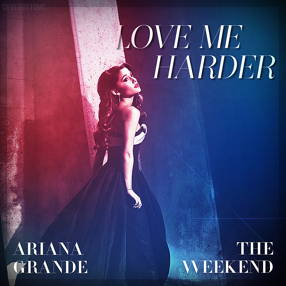 Love Me Harder (fanmade album cover) by FeelDaViibe on ...