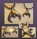 Goblin King pendants