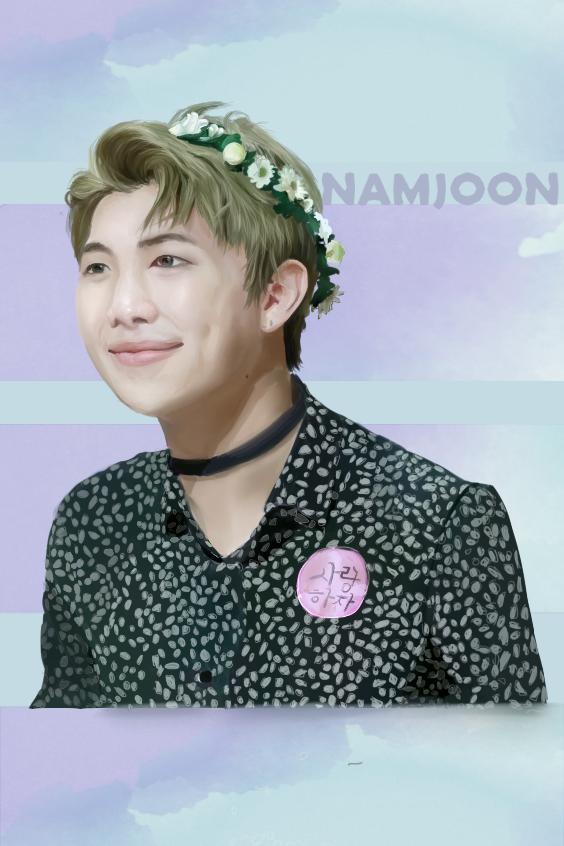 Namjoon~ by ErnyTheAwesomeOne
