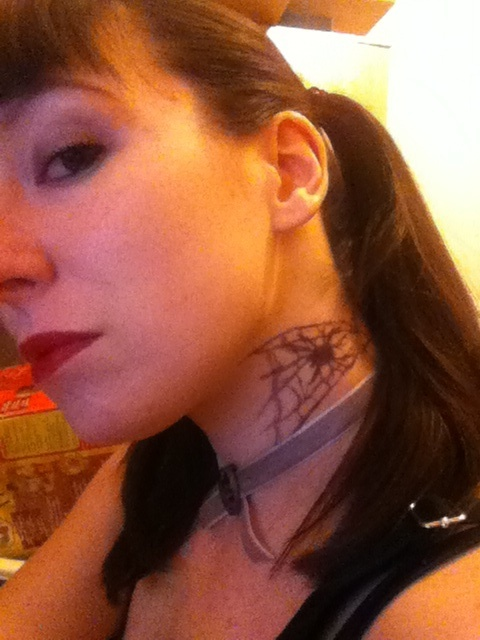 Abby sciuto spider tattoo attempt by mastersrose on deviantart for Ncis abby tattoo