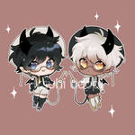 Twin adoptable auction! CLOSED!