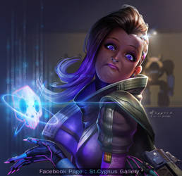 Fan Art : Sombra Overwatch
