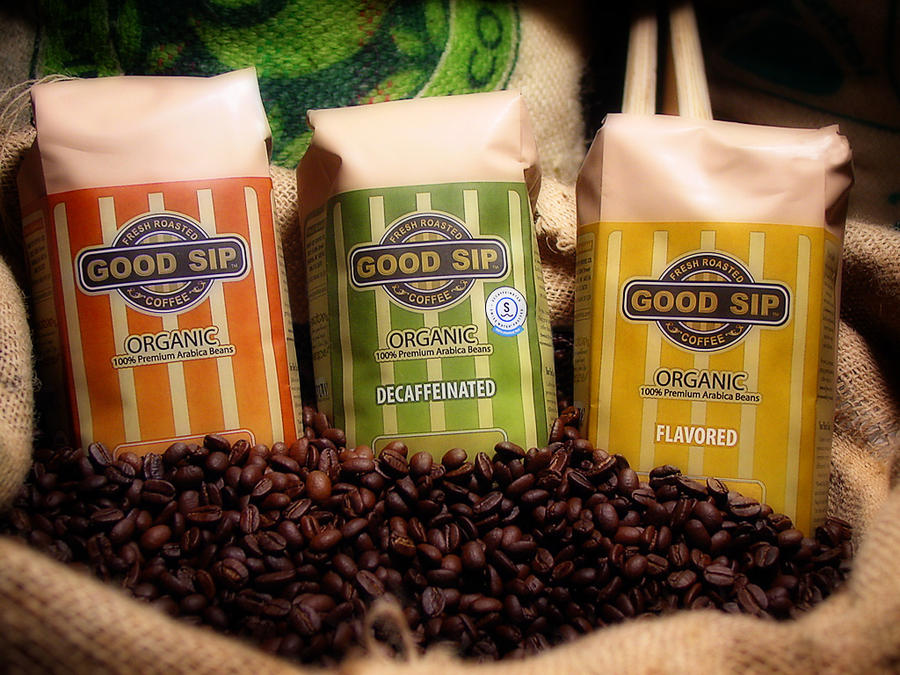 Coffee Packaging by LessOrdinary