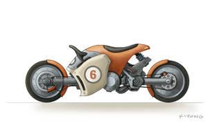 motorcycle by kiyong