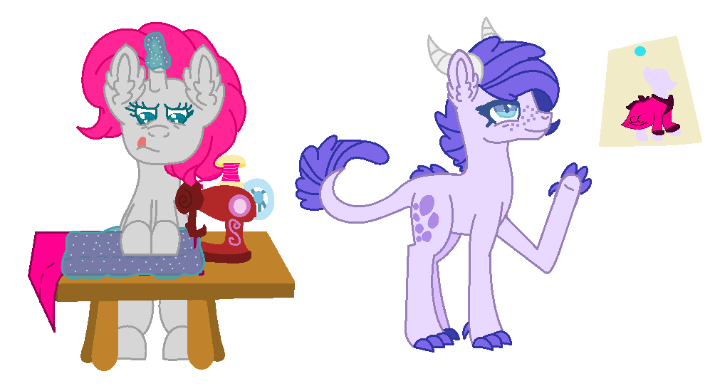 Mlp Robe Making Request
