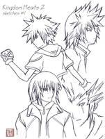 KH 2 sketches1 by Kiki02