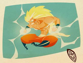Goku by Isema