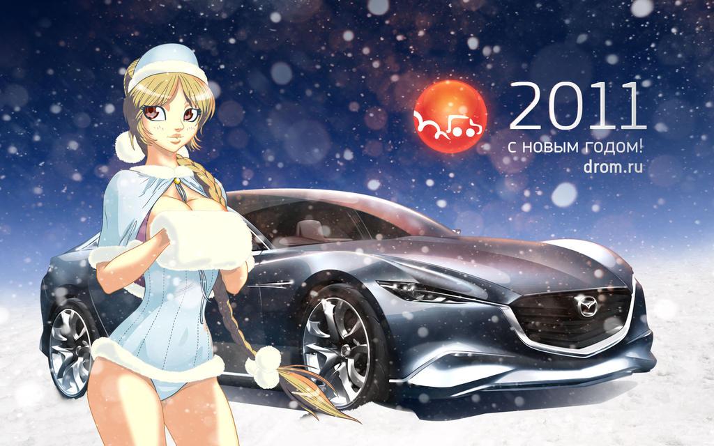 Snowgirl by Isema